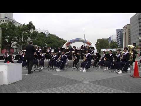 汐路中学校 吹奏楽部 Vol2 @ 栄まちじゅう音楽広場 2015