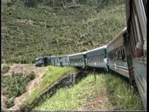 Costa Rica Tren Limón-San Jose 1989