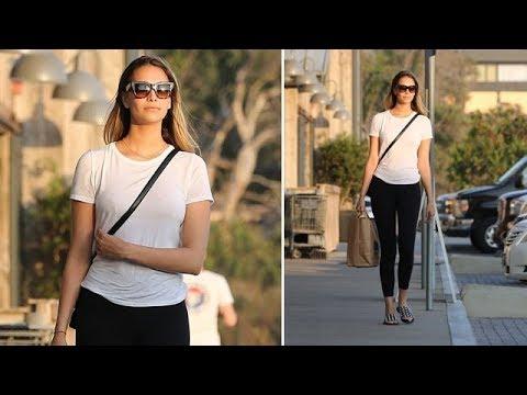 April Love Geary Looks Like A Perfect 10 Model In Malibu