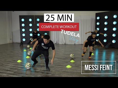 Lionel Messi Feint | 25 MIN WORKOUT || TUDELA WAY