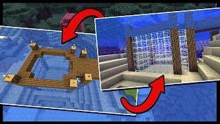 BUILDING AN UNDERWATER AQUARIUM!?   Minecraft Aquatic Contest   #5