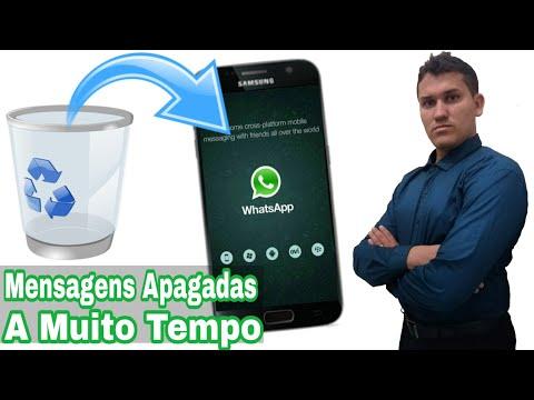 Como Recuperar mensagens Apagadas no Whatsapp à Muito Tempo