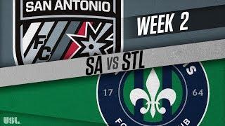 San Antonio FC vs Saint Louis FC: March 24, 2018