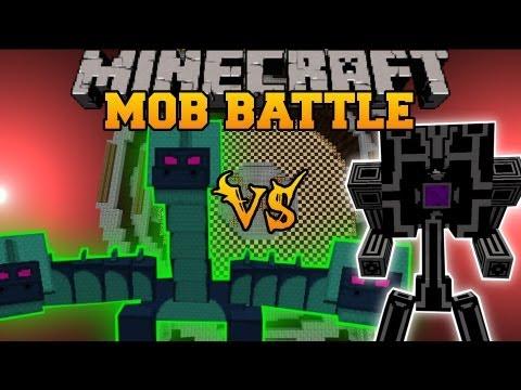 Hydra Vs. Robo-Gunner - Minecraft Mob Battles - Arena Battles