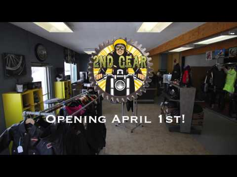 2nd Gear Motorcycle Culture getting the shop ready for opening