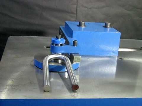 Hoist Ring Bending Machine, Bar Stock Bender Model DD-15, Solid Round Bar Stock