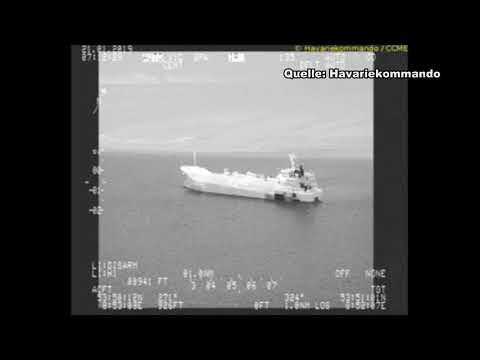 Tanker in der Elbe vor Otterndorf auf Grund gelaufen (Cuxhavener Nachrichten/Niederelbe-Zeitung)