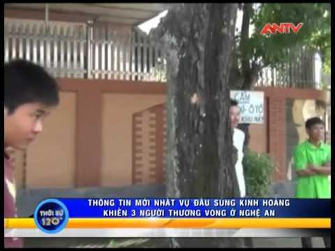 Tin mới về vụ nổ súng ở Nghệ An