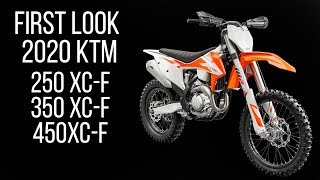 3. First Look: 2020 KTM 250 XC-F, 350 XC-F and 450 XC-F