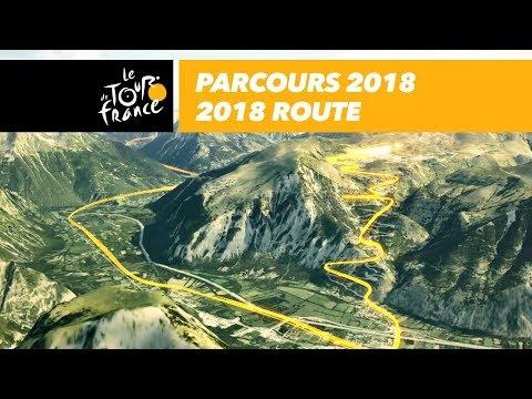 Parcours 3d du nouveau Tour de France 2018