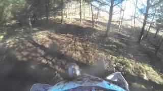 10. Driffield 2014 Enduro ride 0ff road 2014 Husqvarna te250 minor effing and jeffing