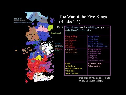 Game Of Thrones - The War Of The Five Kings