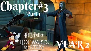 SNEAKING INTO SLYTHERIN'S COMMON ROOM! YEAR 2 Harry Potter Hogwarts Mystery Chapter#3