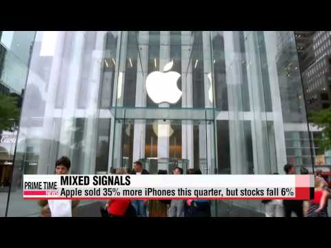 , title : 'Apple see rise in profits but a drop in stocks   애플 수익 상승, 주식 하락'