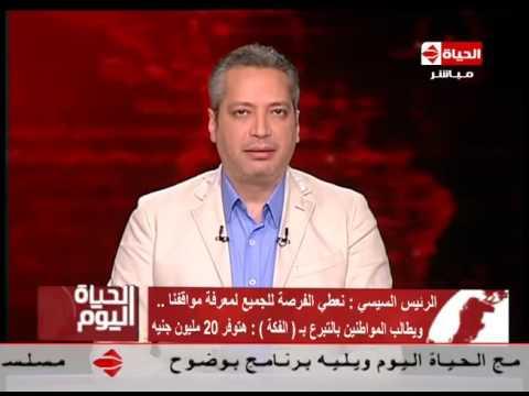"""تامر أمين: أختلف مع الرئيس ومصر لا تُبنى """"بالفكّة"""""""