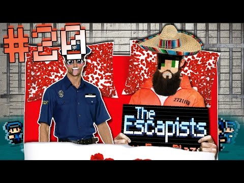 A LETTO CON UNA GUARDIA?! SAN PANCHO IN LOVE - The Escapists ITA #20