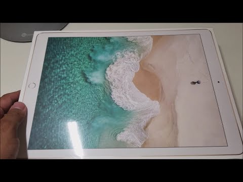 2017 Apple 2nd Gen iPad Pro 12.9 Unboxing!
