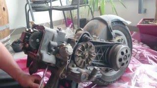 3. Piaggio Vespa ET4 125 naprawa silnika rozbieranie zatarcie silnika wału / Repair engine