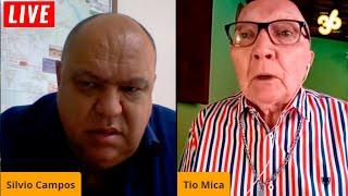 LIVE Tio Mica som Silvio Campos, Presidente do Sindicato dos Metalúrgicos de Volta Redonda