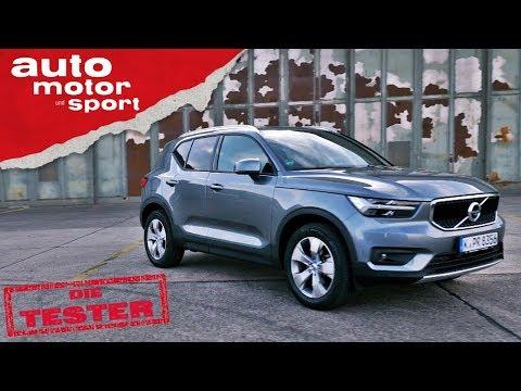 Volvo XC40 T3: Reichen nur 3 Zylinder im SUV? - Test/ ...