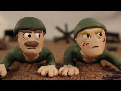 World War 2 - D-Day (Claymation)