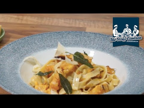 Tagliatelle with squash, Parmigiano Reggiano cream & Aceto Balsamico Tradizionale Di Modena