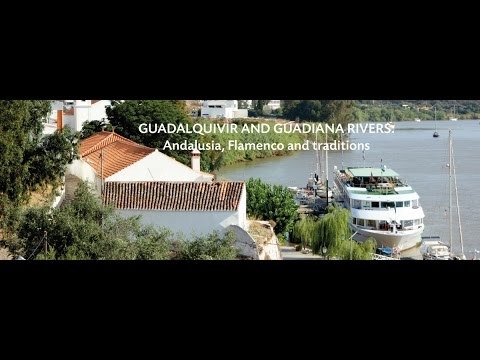 South of Spain : the Guadalquivir and Guadiana rivers with Altantic Ocean connection NEW