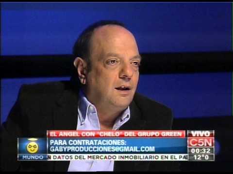 """C5N - EL ANGEL DE LA MEDIANOCHE CON """"CHELO"""" DEL GRUPO GREEN (PARTE 2)"""