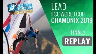 IFSC Climbing World Cup Chamonix 2019 - Lead Finals by International Federation of Sport Climbing
