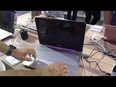 Asus N552VX Hands On [4K UHD]