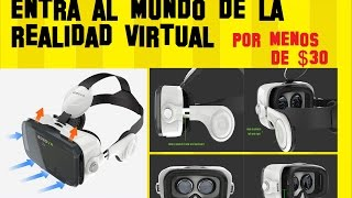 Hoy probamos estas gafas de realidad virtual con sonido envolvente y pantalla de 120°, para que disfrutes de una experiencia unica para ver peliculas en 360° o jugar juegos VR como si de unas Google Cardboards mejoradas se tratara y todo por unos $29 dólares CONTROL BLUETOOTH incluido.🌎😀COMPRAR GAFAS BOBOVR Z4 aqui en la tienda GEARBEST (ENVIOS A TODO EL MUNDO): https://goo.gl/PyVjhP-------------------------------------------------------------------------------------------------------🌟🌟🌟🌟🌟DESCARGATE AHORA MISMO MI APLICACION FONTS - Letras para Whatsap: https://play.google.com/store/apps/details?id=com.logan20.fonts_letrasparawhatsapp🌟🌟🌟🌟🌟No olvides dejar 5 estrellas!!! GRACIAS😀😀😀😀😀--------------------------------------------------------------------------------------------------------❤❤ TIENDA CELULARES BARATOS ❤❤ Encuentra los mejores dispositivos tecnológicos al mejor precio TIENDA COLOMBIA: http://www.celularesbaratos.com.co/❤❤SI QUIERES INVITARME A UN CAFÉ EN TU NOMBRE ME PUEDES HACER UNA DONACIÓN AQUÍ❤❤ http://goo.gl/QXpJ2WVIDEOS DESTACADOS:█ Ver TV Gratis en Android TODOS LOS METODOS POSIBLES https://www.youtube.com/playlist?list=PLN5_RTOYm0hPOQzvMSqHNNs9iqU9Hs2hO█ Noticias y Trucos para tu Android https://www.youtube.com/playlist?list=PLN5_RTOYm0hNqX1fK4cram7_FsJaQ5dNk█ Todo para ver CINE GRATIS en casa (Android y PC) https://www.youtube.com/playlist?list=PLN5_RTOYm0hMexavkLV4OsuoalrXmHuf2█ Ganar dinero con Mobidea https://www.youtube.com/watch?v=b-Av7Vr_vRo__No olvides que APRENDER ES GRATIS!!....SUSCRIBETESegundo CANAL XD Tops https://www.youtube.com/channel/UCBLuxYUzxXcFrqPkAs4vxtgBlog http://vitrinets.blogspot.com/Twitter https://twitter.com/elprofejorge10Facebook https://www.facebook.com/El-Profe-Jorge-680463462036088/timeline/DISCLAIMER  I do not own the anime, music, artwork or the lyrics. All rights reserved to their respective owners!!! This video is not meant to infringe any of the copyrights. This is for promote.Copyright Disclaimer Title 17, US Code (Sections 107-118 of the copyright law, Act 1976):All media in this video is used for purpose of review & commentary under terms of fair use. All footage, & images used belong to their respective companies.Fair use is a use permitted by copyright statute that might otherwise be infringing.
