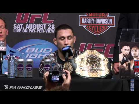 Frankie Edgar Reflects on BJ Penn Win