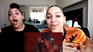 Blueface - Thotiana Remix ft. Cardi B (Dir. by @_ColeBennett_) Reaction   Perkyy and Honeeybee