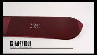 K2 Happy Hour Snowboard 2014