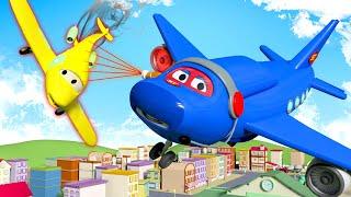 Video Jumbo Jet  - Carl Si Truk Super 🚚 ⍟ truk kartun untuk anak-anak l Indonesian Cartoons for Kids MP3, 3GP, MP4, WEBM, AVI, FLV Oktober 2017
