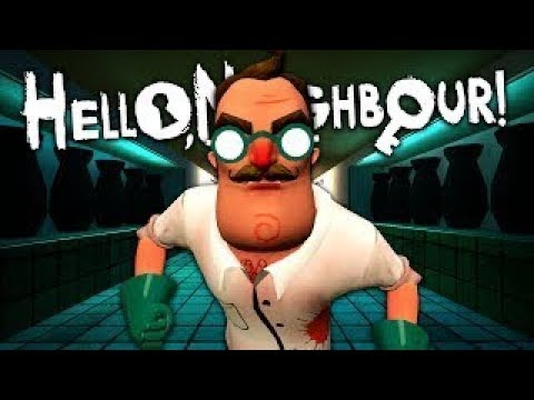 DR. HELLO. Die Grusligste MOD | Hello Neighbour BETA 3 MODS | [Deutsch/German] (видео)