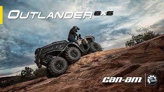 9. Can-Am Outlander 6x6 XT ATV Features