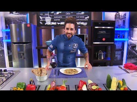 """Cucinare TV - """"Risotto de cordero y hongos de pino"""" видео"""