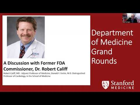 Reflections on COVID: FDA, CDC, Testing & Public Health - Stanford DOM Grand Rounds - 23 Sept 2020