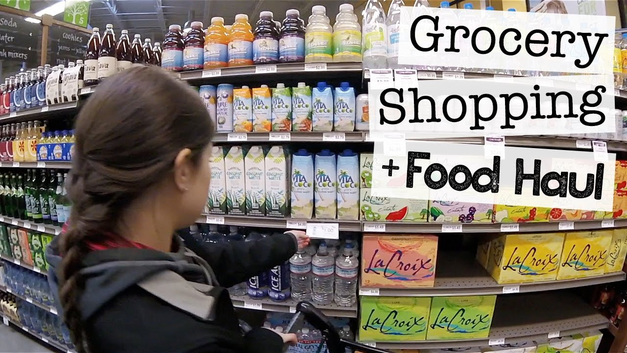 GROCERY SHOPPING + FOOD HAUL