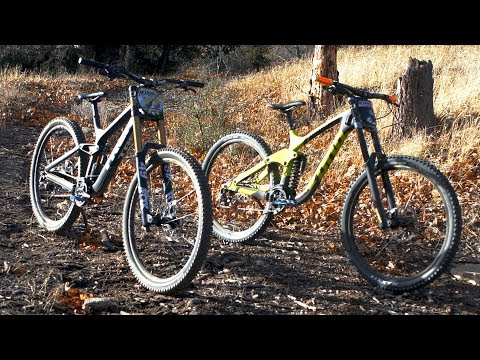 Trek vs Kona Downhill 29er Shoot Out - Mountain Bike Action Magazine