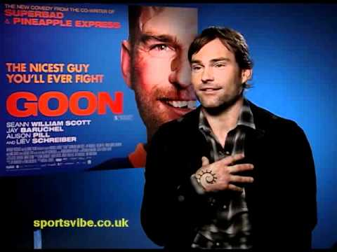 Seann William Scott talks Goon, Fighting &amp; Sports