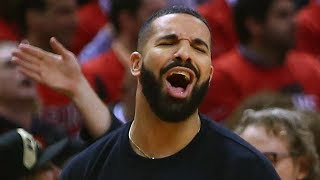 "Drake FINALLY Acknowledges The ""Drake Curse"" After Toronto Raptors Advance To Semifinals! by Obsev Sports"