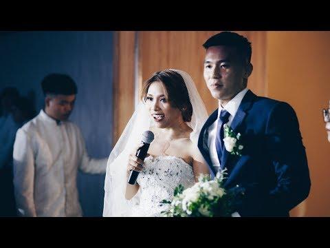 Cô dâu Người Myanmar hát Tiếng Việt tặng ông xã