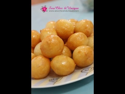 Luqaimat Recipe - Sweet dumplings a ramadhan favorite