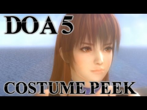 DOA 5 Fan Service - Kasumi Costumes