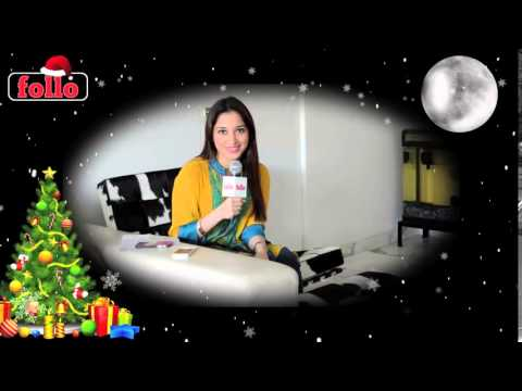 Tamanna Bhatia Wishes Cristmas & New Year On follo
