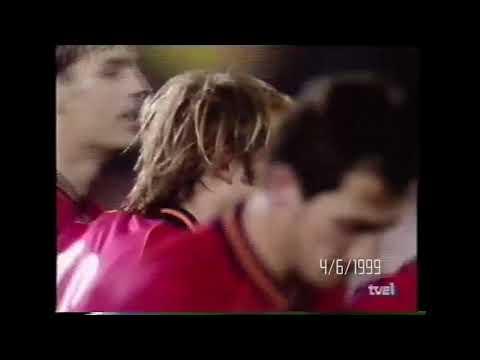 Primer gol con España