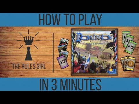 How to Play Dominion in 3 Minutes - The Rules Girl