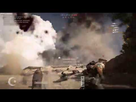 Battlefield 1 1000-999 (Amputee plays as Medic) Multiplayer Gameplay